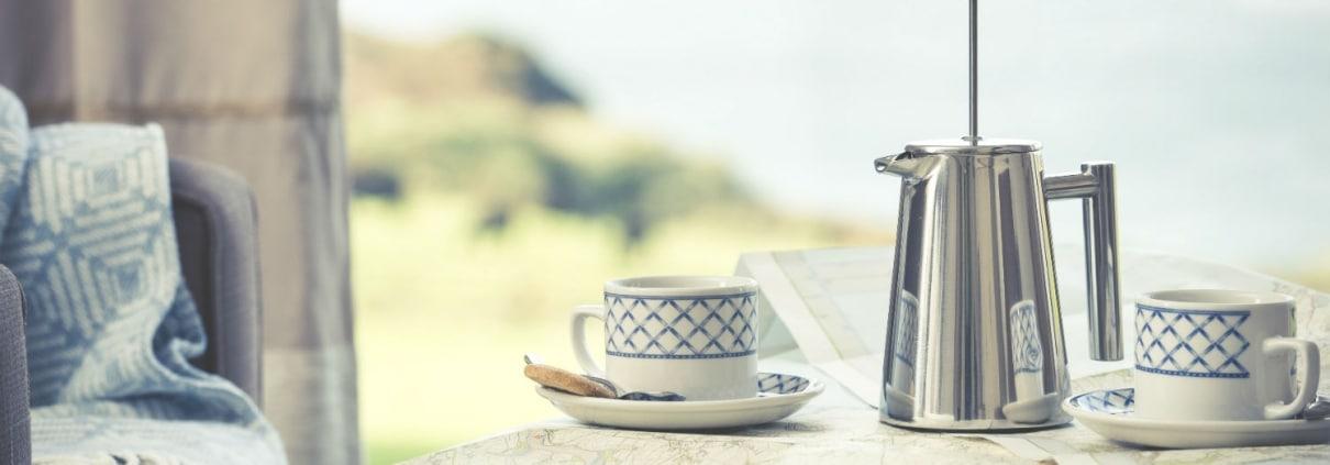 Coffee & Map